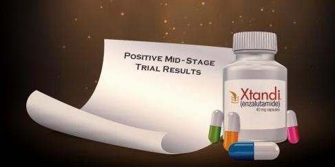 前列腺癌口服药物Xtandi