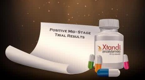 Xtandi用于早期前列腺癌治疗的临床试验将会加速完成